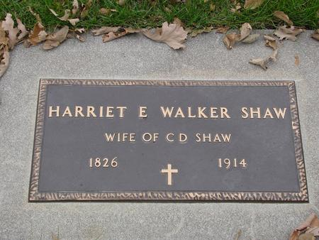 SHAW, HARRIET E. - Sac County, Iowa | HARRIET E. SHAW