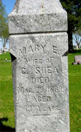 SHEA, MARY E. - Sac County, Iowa | MARY E. SHEA