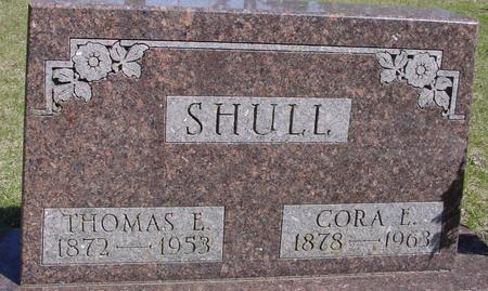 SHULL, THOMAS  & CORA - Sac County, Iowa | THOMAS  & CORA SHULL