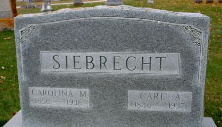 SIEBRECHT, CARL A. & CAROLINE - Sac County, Iowa | CARL A. & CAROLINE SIEBRECHT