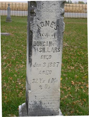 SILLARS, AGNES - Sac County, Iowa   AGNES SILLARS