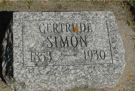 SIMON, GERTRUDE - Sac County, Iowa | GERTRUDE SIMON