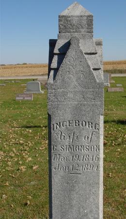 SIMONSON, INGEBORG - Sac County, Iowa | INGEBORG SIMONSON