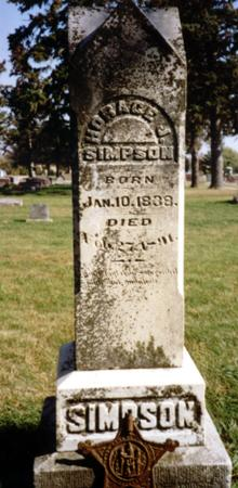 SIMPSON, HORACE J. - Sac County, Iowa | HORACE J. SIMPSON