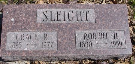 SLEIGHT, ROBERT & GRACE - Sac County, Iowa | ROBERT & GRACE SLEIGHT