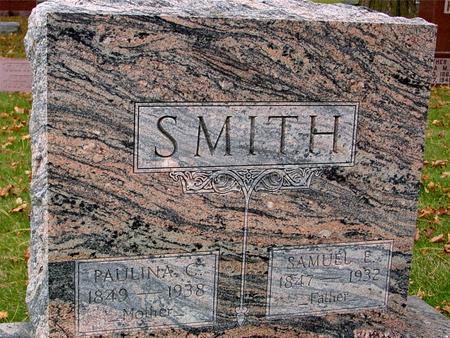 SMITH, SAMUEL & PAULINE - Sac County, Iowa   SAMUEL & PAULINE SMITH