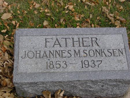 SONKSEN, JOHANNES M. - Sac County, Iowa | JOHANNES M. SONKSEN