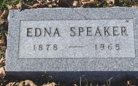 SPEAKER, EDNA - Sac County, Iowa   EDNA SPEAKER