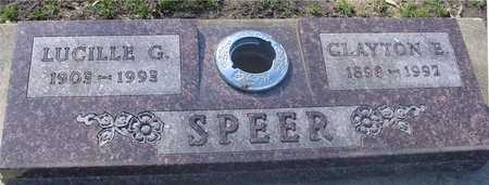 SPEER, CLAYTON & LUCILLE - Sac County, Iowa | CLAYTON & LUCILLE SPEER
