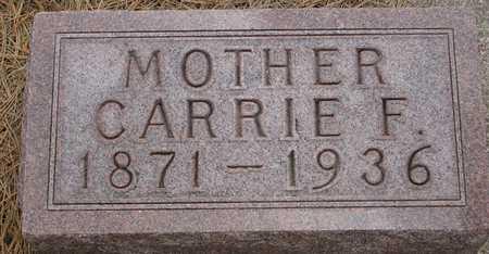 STANZEL, CARRIE (CAROLINE) - Sac County, Iowa | CARRIE (CAROLINE) STANZEL