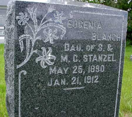 STANZEL, EUGENIA BLANCH - Sac County, Iowa   EUGENIA BLANCH STANZEL