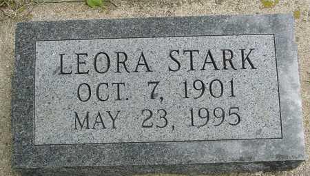 STARK, LEORA - Sac County, Iowa | LEORA STARK