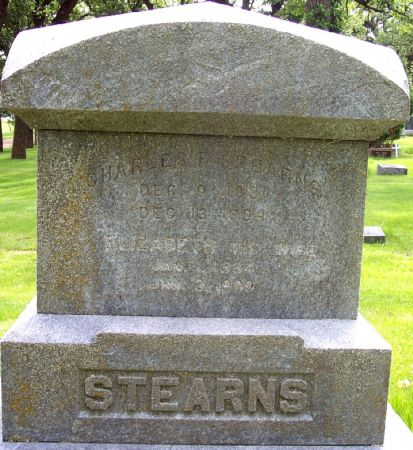 STEARNS, CHARLES E - Sac County, Iowa | CHARLES E STEARNS