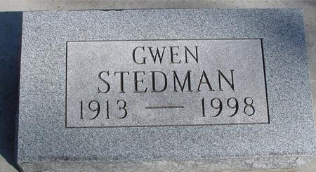 STEDMAN, GWEN - Sac County, Iowa | GWEN STEDMAN