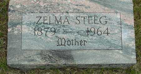 STEEG, ZELMA - Sac County, Iowa   ZELMA STEEG