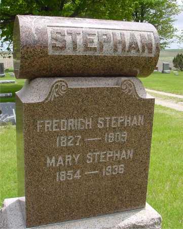 STEPHAN, FREDRICH & MARY - Sac County, Iowa | FREDRICH & MARY STEPHAN