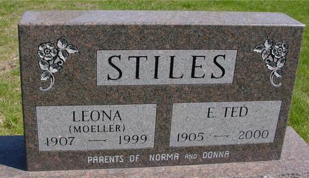 STILES, E. TED & LEONA - Sac County, Iowa | E. TED & LEONA STILES