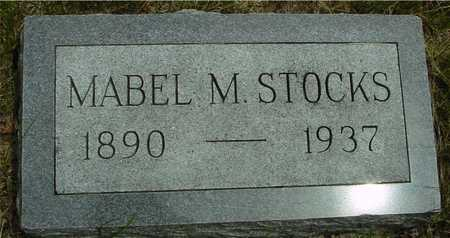 STOCKS, MABEL M. - Sac County, Iowa | MABEL M. STOCKS