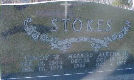 STOKES, LEROY & ALETHA - Sac County, Iowa | LEROY & ALETHA STOKES