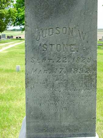 STONE, JUDSON W. - Sac County, Iowa   JUDSON W. STONE