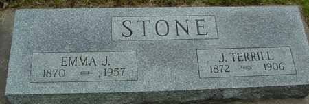 STONE, TERRILL & EMMA J. - Sac County, Iowa | TERRILL & EMMA J. STONE