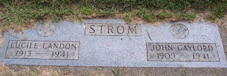 STROM, ANNA LUCILE - Sac County, Iowa | ANNA LUCILE STROM