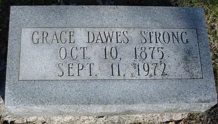 STRONG, GRACE DAWES - Sac County, Iowa | GRACE DAWES STRONG