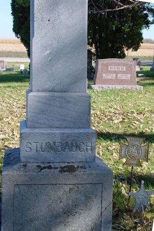 STUMBAUGH, CONRAD KYNER - Sac County, Iowa   CONRAD KYNER STUMBAUGH