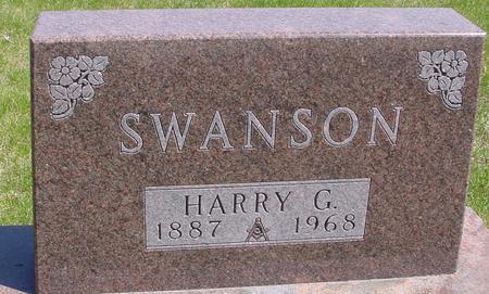 SWANSON, HARRY G. - Sac County, Iowa | HARRY G. SWANSON