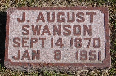 SWANSON, J. AUGUST - Sac County, Iowa | J. AUGUST SWANSON
