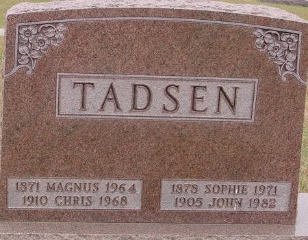 TADSEN, MAGNUS & SOPHIE - Sac County, Iowa | MAGNUS & SOPHIE TADSEN