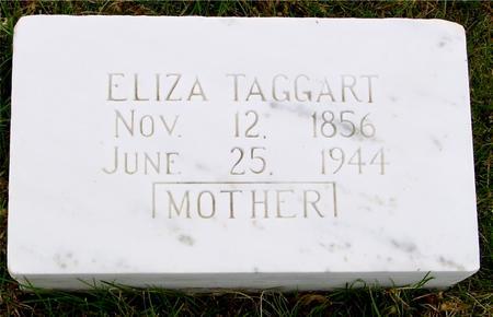 TAGGERT, ELIZA - Sac County, Iowa | ELIZA TAGGERT