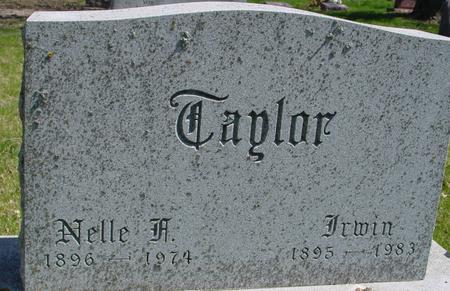 TAYLOR, IRWIN & NELLE - Sac County, Iowa | IRWIN & NELLE TAYLOR