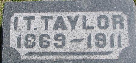 TAYLOR, I. T. - Sac County, Iowa | I. T. TAYLOR