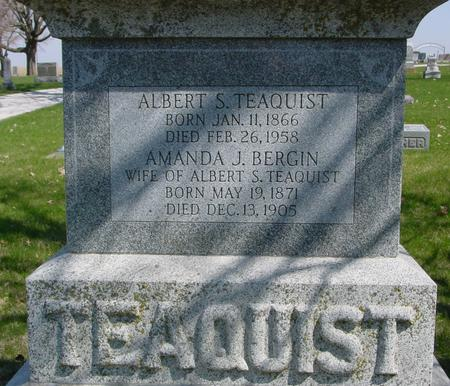 TEAQUIST, ALBERT & AMANDA J. - Sac County, Iowa | ALBERT & AMANDA J. TEAQUIST
