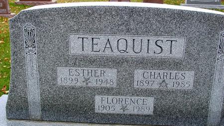 TEAQUIST, CHARLES & ESTHER - Sac County, Iowa | CHARLES & ESTHER TEAQUIST