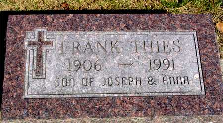 THIES, FRANK - Sac County, Iowa | FRANK THIES