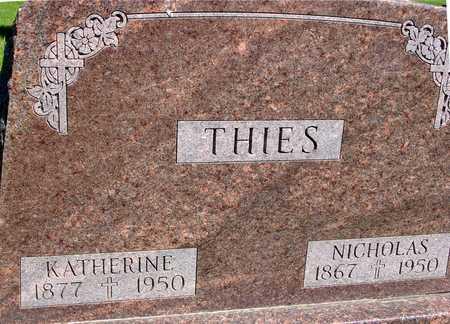 THIES, NICHOLAS & KATHERINE - Sac County, Iowa   NICHOLAS & KATHERINE THIES