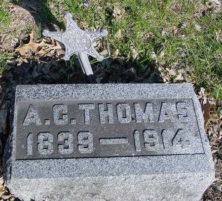THOMAS, A. C. - Sac County, Iowa | A. C. THOMAS