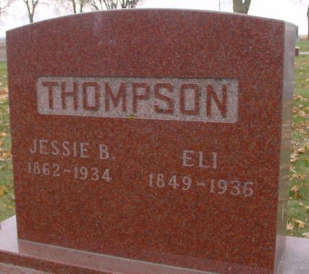 THOMPSON, ELI & JESSIE B. - Sac County, Iowa | ELI & JESSIE B. THOMPSON
