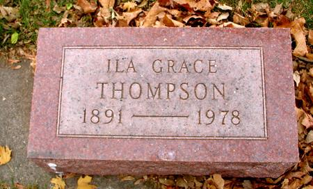 THOMPSON, ILA GRACE - Sac County, Iowa   ILA GRACE THOMPSON