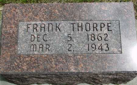 THORPE, FRANK - Sac County, Iowa | FRANK THORPE