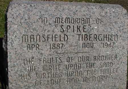 TIBERGHIEN, MANSFIELD (SPIKE) - Sac County, Iowa | MANSFIELD (SPIKE) TIBERGHIEN