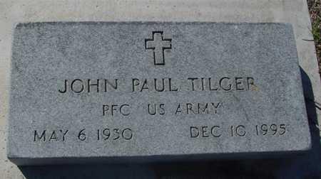 TILGER, JOHN PAUL - Sac County, Iowa   JOHN PAUL TILGER