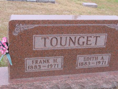 TOUNGET, FRANK & EDITH A. - Sac County, Iowa | FRANK & EDITH A. TOUNGET