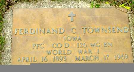 TOWNSEND, FERDINAND C. - Sac County, Iowa | FERDINAND C. TOWNSEND
