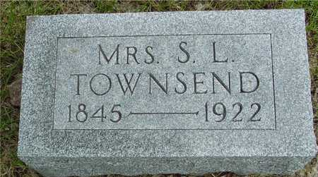 TOWNSEND, MRS. S. L. - Sac County, Iowa | MRS. S. L. TOWNSEND