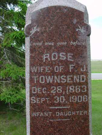 TOWNSEND, ROSE - Sac County, Iowa | ROSE TOWNSEND