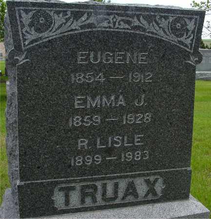 TRUAX, EUGENE & EMMA J. - Sac County, Iowa | EUGENE & EMMA J. TRUAX