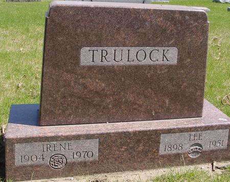 TRULOCK, LEE & IRENE - Sac County, Iowa | LEE & IRENE TRULOCK